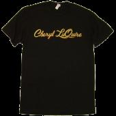 Cheryl LuQuire Unisex Black Tee