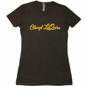 Cheryl LuQuire Ladies Dark Heather Grey Tee