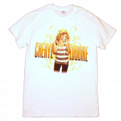 Cheryl LuQuire White Photo Tee