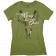 Cheryl LuQuire Ladies Green Tee